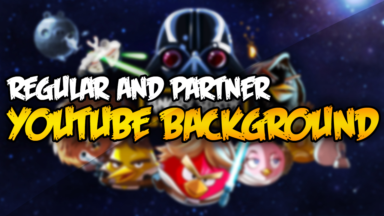 angry birds star wars youtube background regular free